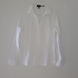 JONES NEW YORK signature white shirt